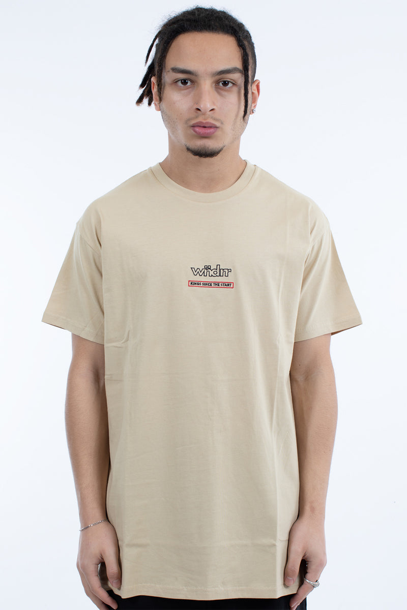 BLAZE CUSTOM FIT TEE - TAN