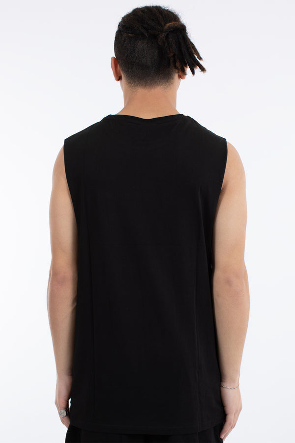 UNLOCKED MUSCLE TOP - BLACK