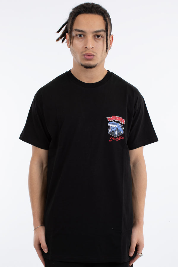 SLOW RIDE CUSTOM FIT TEE - BLACK