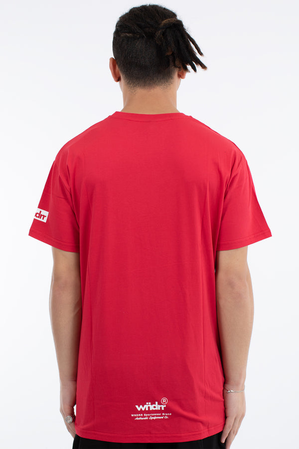 PARADOX CUSTOM FIT TEE - RED