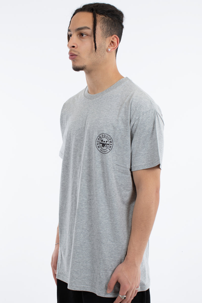 CLUTCH CUSTOM FIT TEE - GREY MARLE