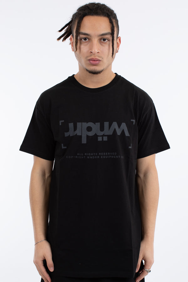 UNLOCKED CUSTOM FIT TEE - BLACK