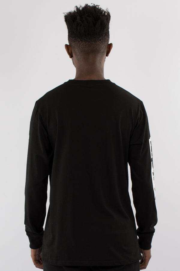 FRAUD L/S TEE - BLACK