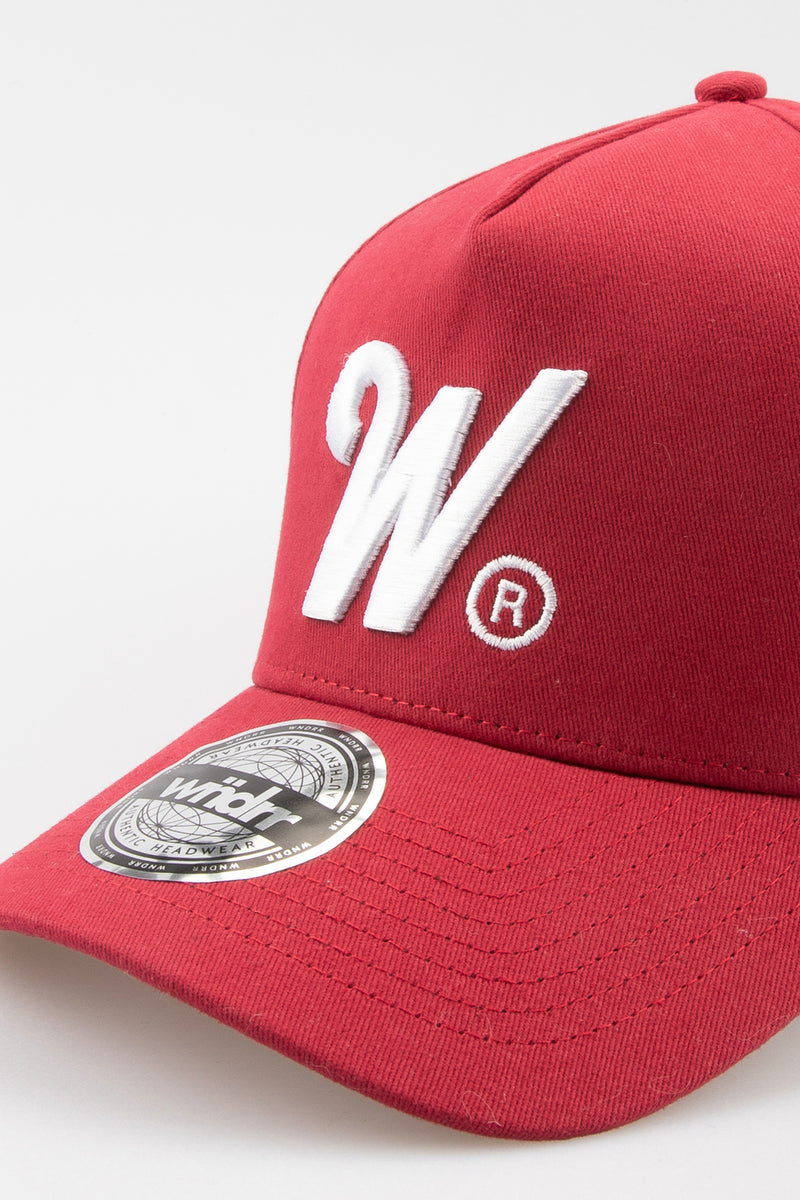 PHILLIPS SNAPBACK CAP - BURGUNDY