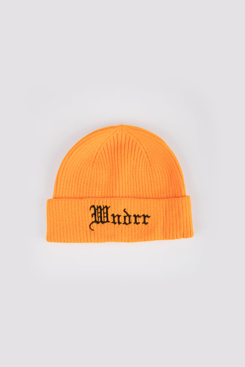 STRONGER BEANIE - ORANGE