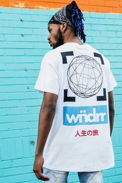 FASTBREAK CUSTOM FIT TEE - WHITE