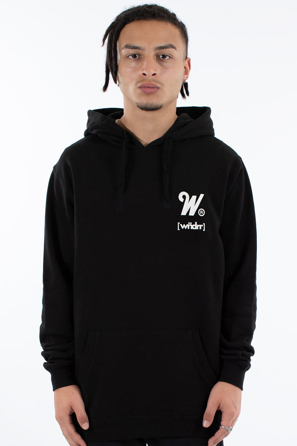 SPARK HOOD SWEAT - BLACK