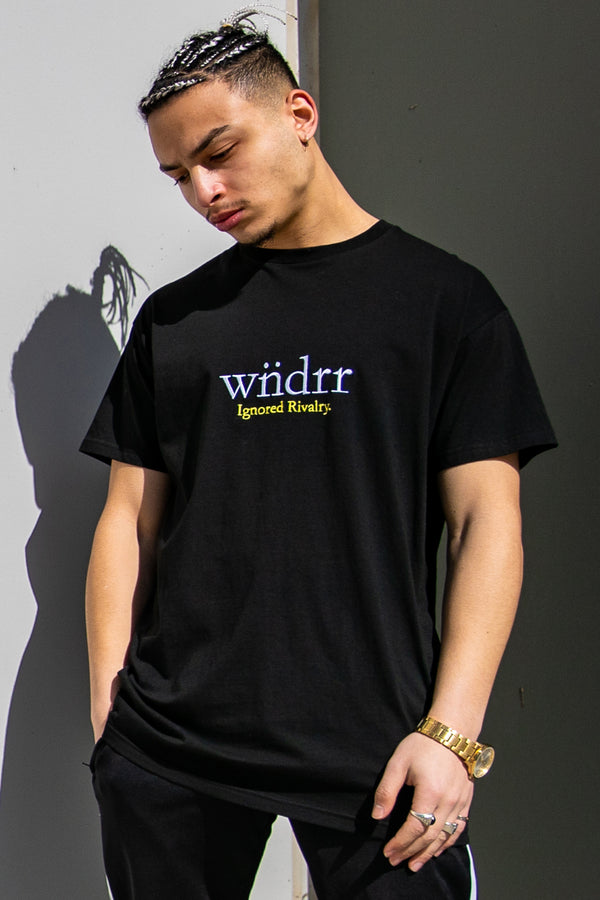 DEFIANCE CUSTOM FIT TEE - BLACK