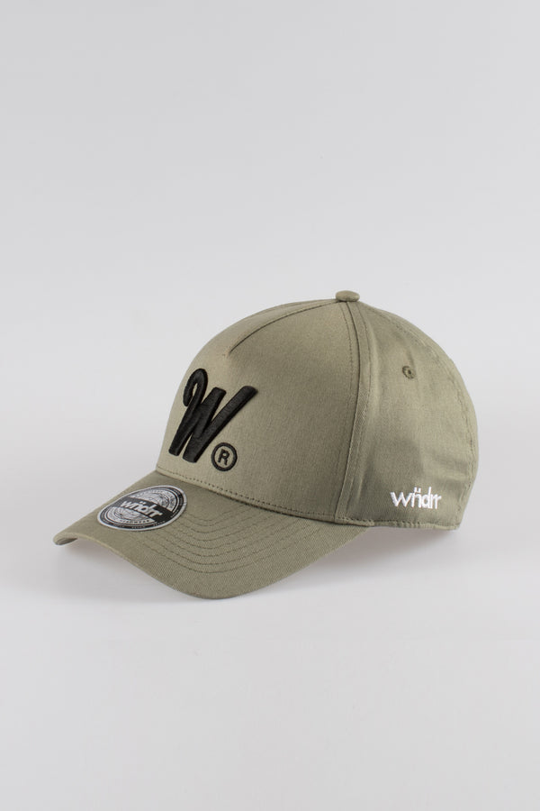 PHILLIPS SNAPBACK CAP - OLIVE GREEN