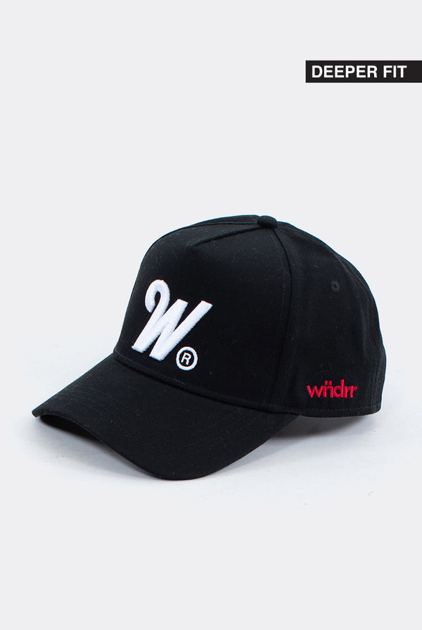 PHILLIPS HIGH RISE CAP - BLACK