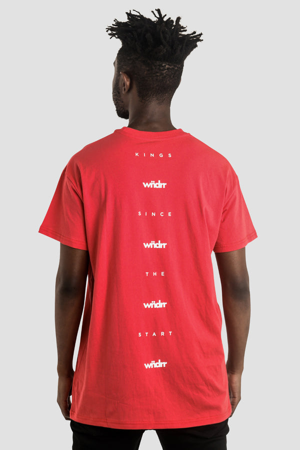 PARKER CUSTOM FIT TEE - RED