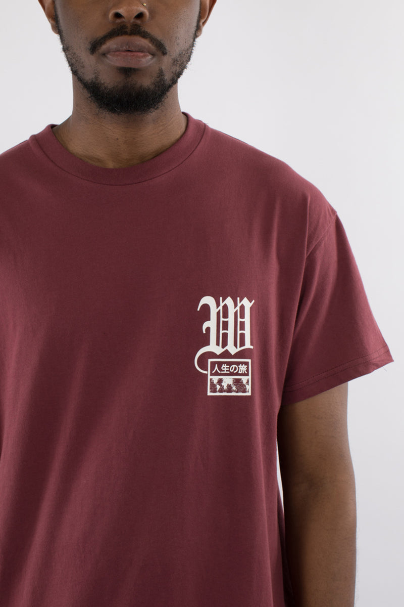 PROMISE CUSTOM FIT TEE - BURGUNDY
