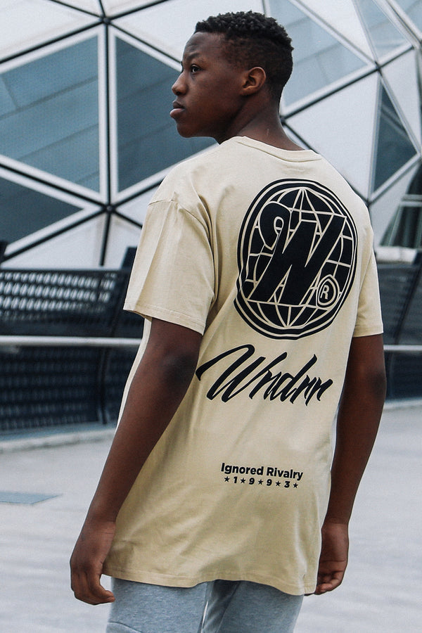DETACHED CUSTOM FIT TEE - TAN