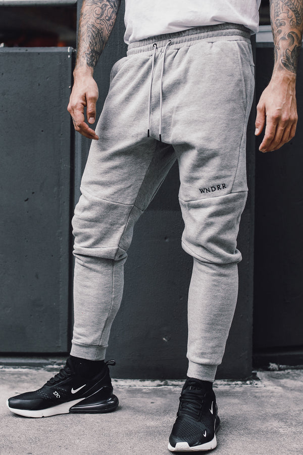 ALCANTARA TECH TRACKPANT - GREY MARLE