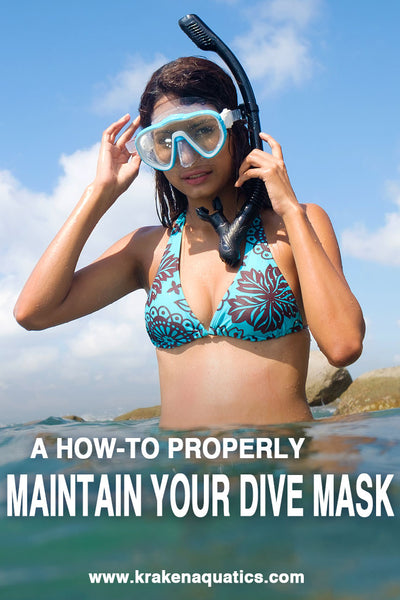 How to Properly Maintain Your Dive Mask