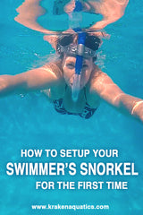 How To Setup Your Swimmer's Snorkel For The First Time