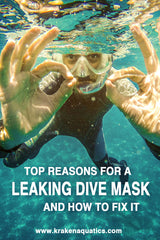 Top reasons for a leaking dive mask and how to fix it