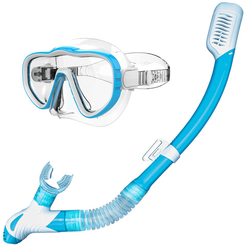 Mask and Dry Snorkel Set
