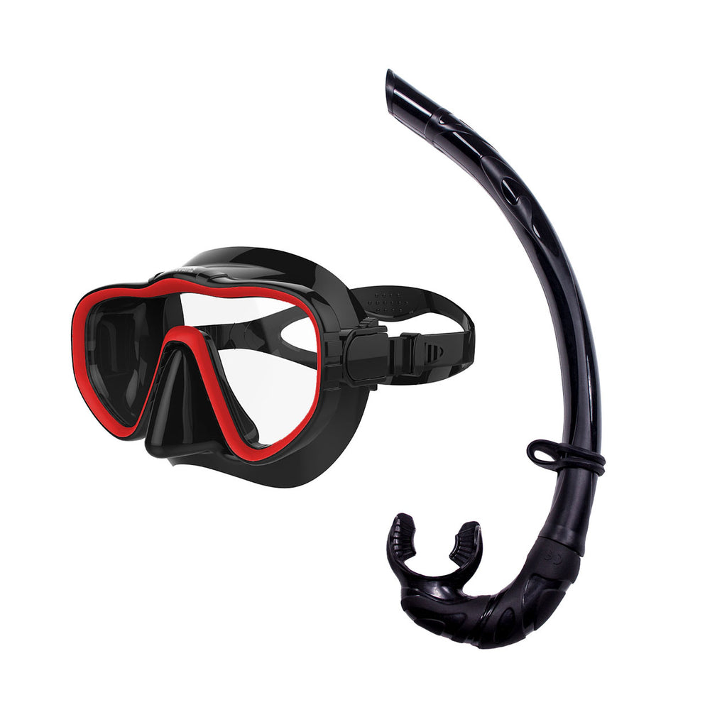 Mask and Roll Up Snorkel Set