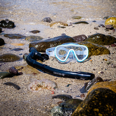 Kraken Aquatics Mask and Dry Snorkel Set