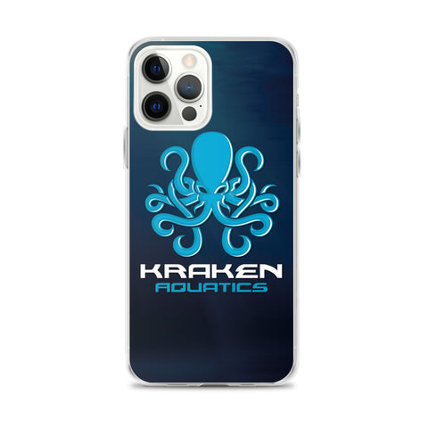 Kraken Aquatics Logo iPhone Case