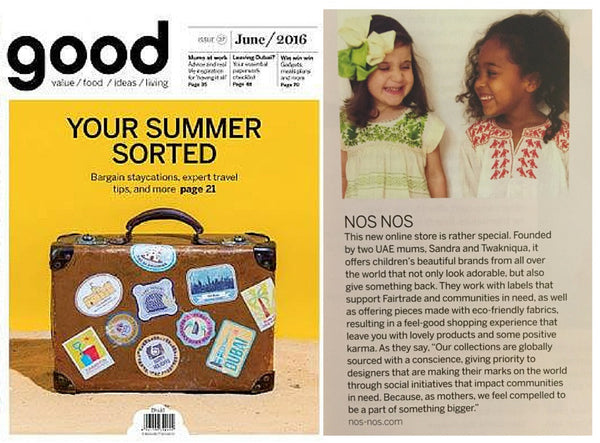 Good Magazine Nos Nos June 2016