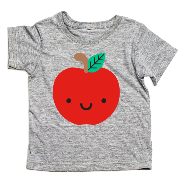 whistle and flute apple tee