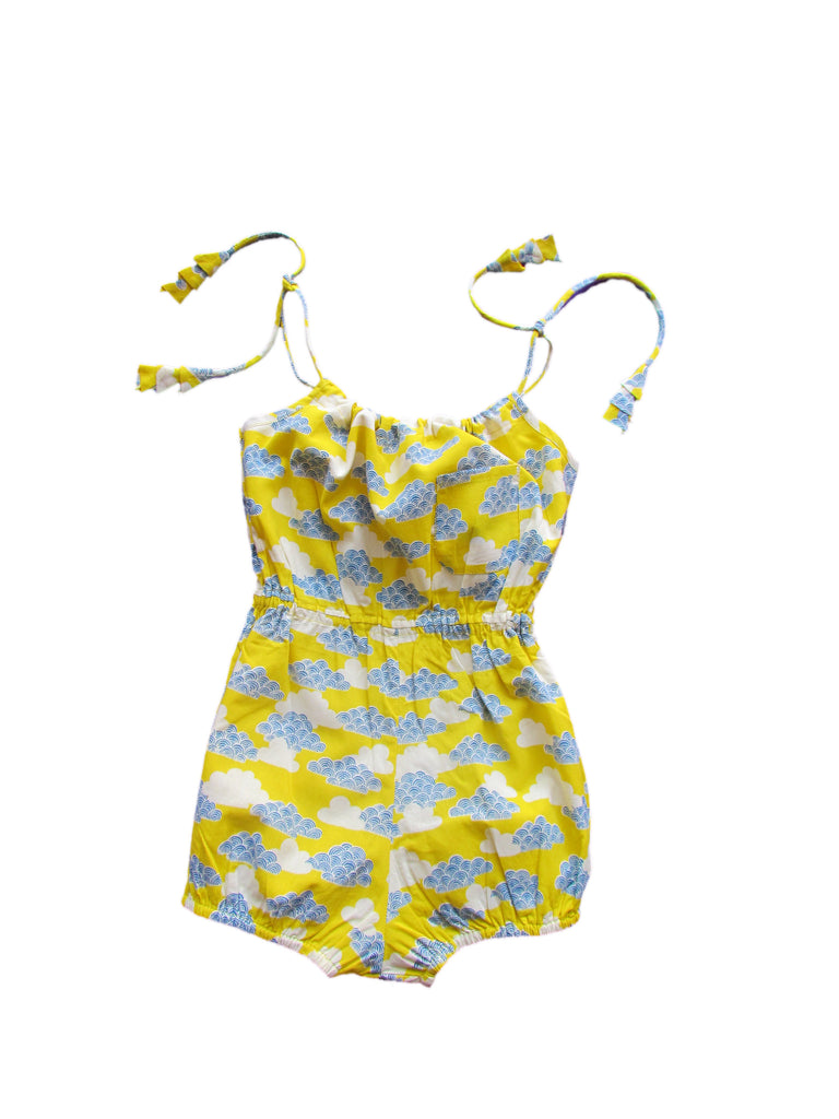 lali kids come play onepiece romper cloud print girls