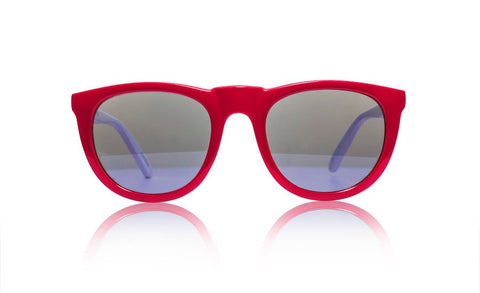 sons + daughters bobby deux sunglasses red
