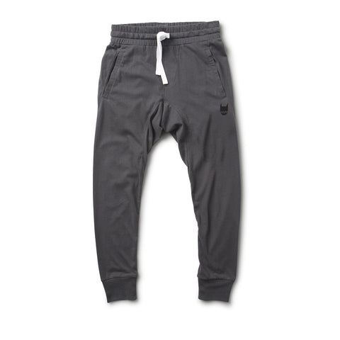 munster kids four black jersey pants