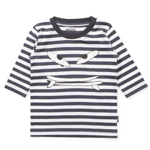 munster kids grind striped tee