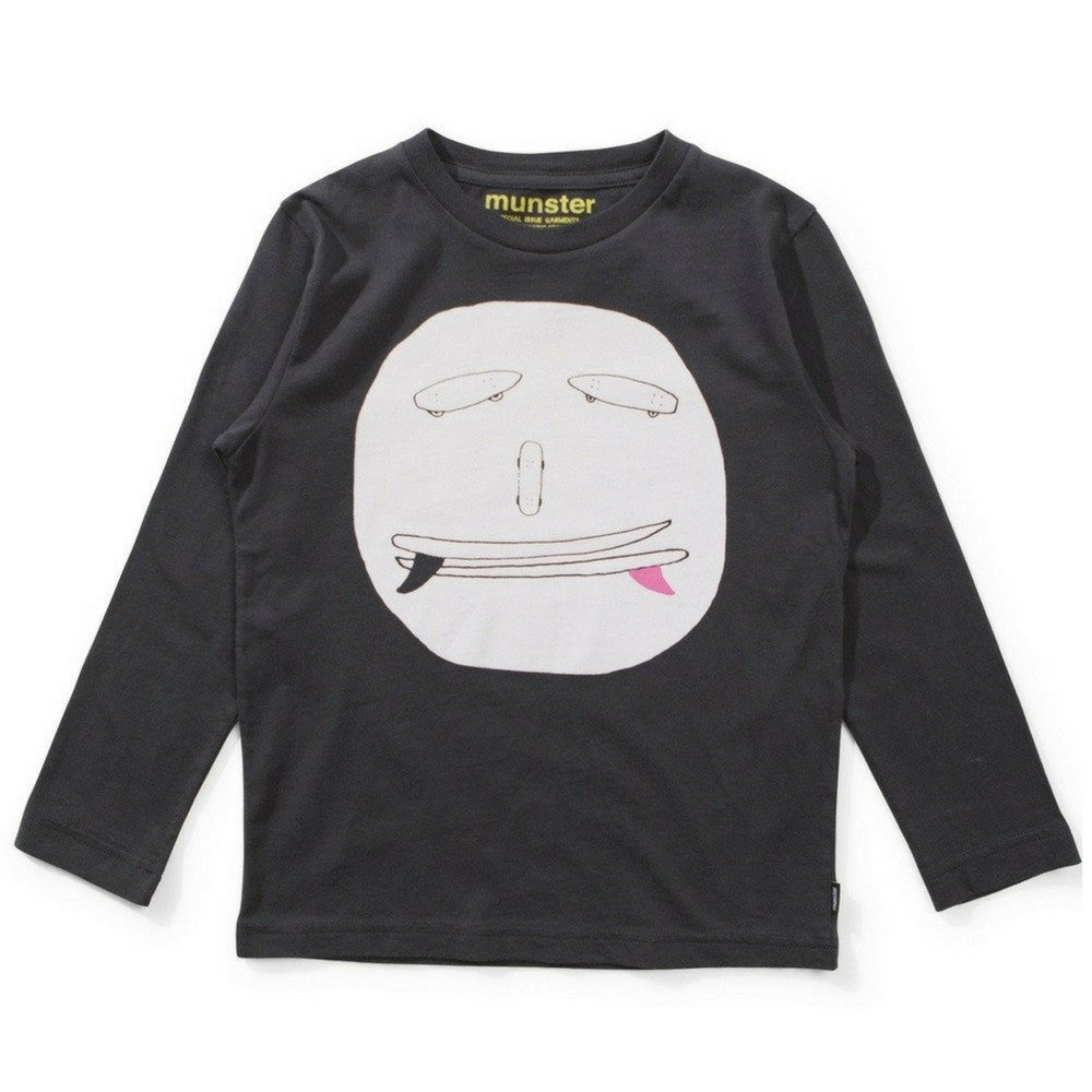 munster kids grinners long sleeve tee