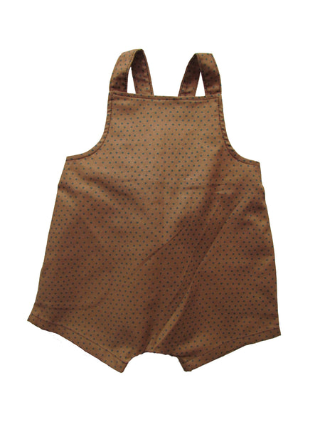 carlymegan kent shortalls brown boys suit