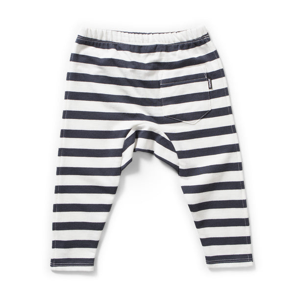 munster kids lines stripe baby leggings back