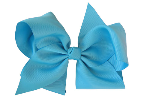 the hair bow company large grosgrain hair bow turquoise