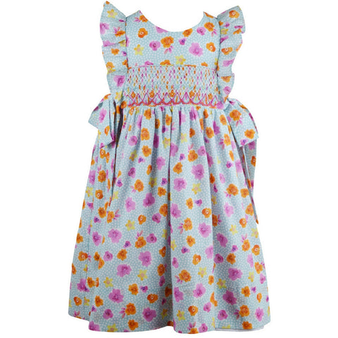 marco and lizzy emma smocked dress