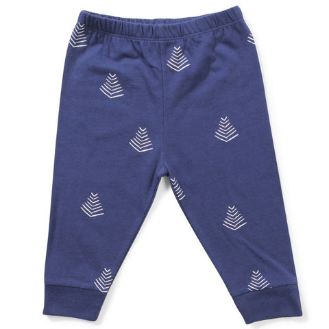 MiniMunster Kids Pine Legging navy boy