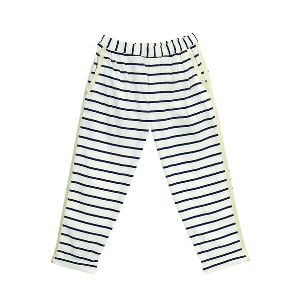 velveteen polly striped pants with gold trim girls pants