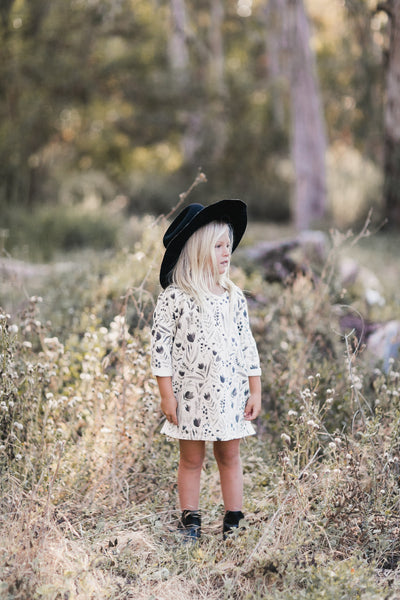 Rylee + Cru Flora Slouch dress girls