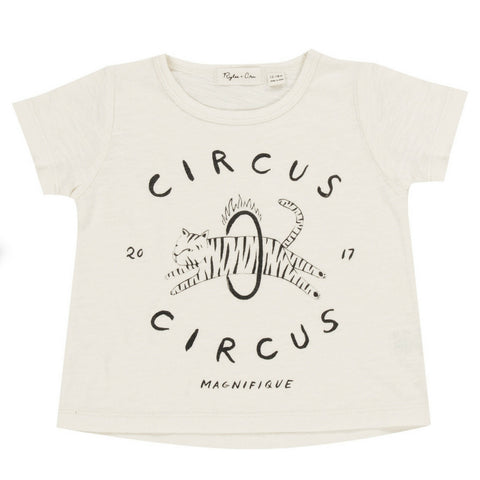 rylee and cru circus baby tee