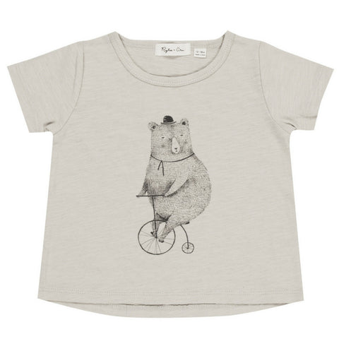 Rylee Cru Cycling Bear Basic Tee