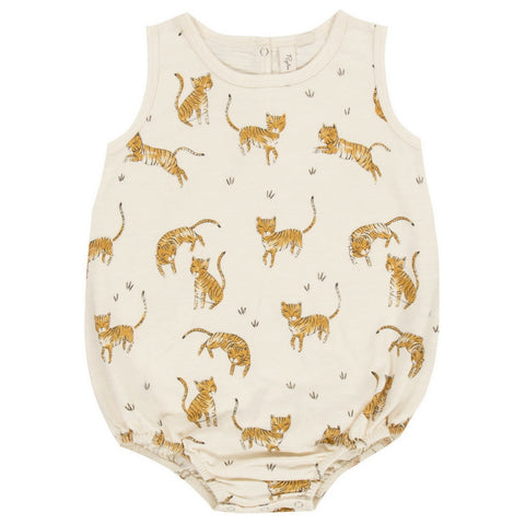 rylee and cru tigers baby bubble onesie