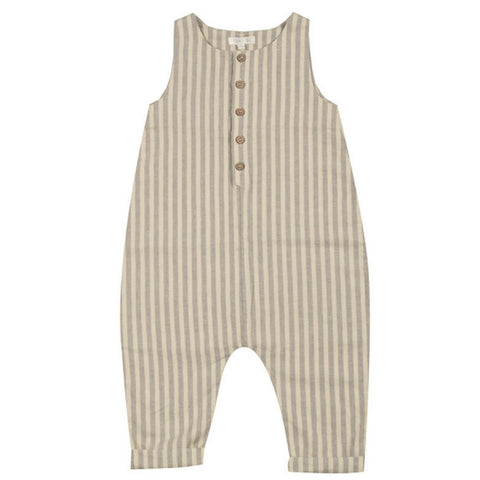 rylee and cru stripe sleeveless jumpsuit