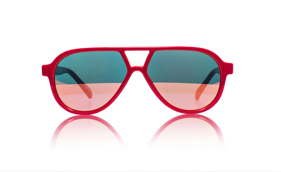 sons and daughters rocky II kids sunglasses red