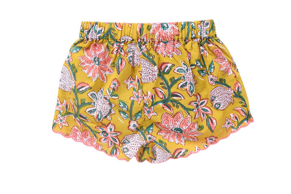 louise misha mississippi shorts goa print back
