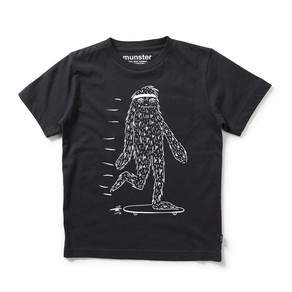 munster kids boys slide monster tee