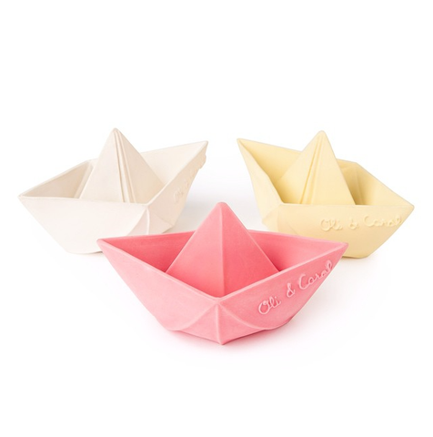 oli and carol origami boats baby bath toys