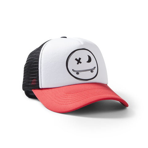 munster kids wink trucker hat boys