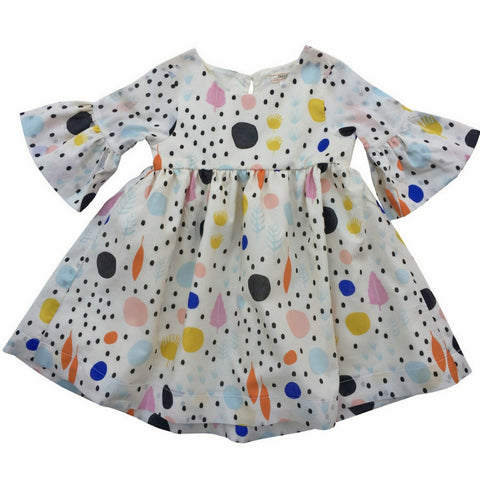 cavelle kids quirky dot lily dress