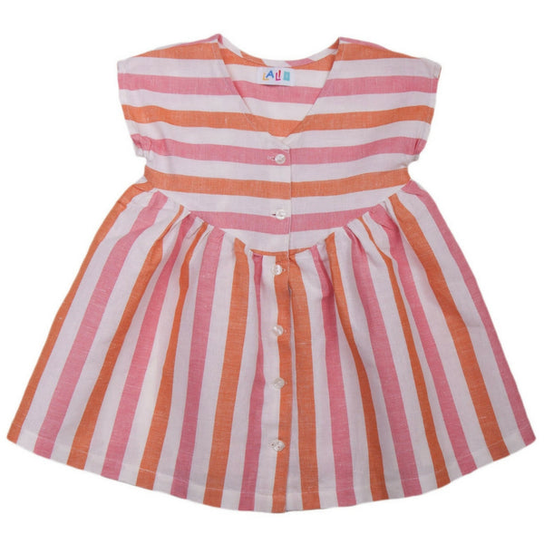 lali kids camellia dress stripe